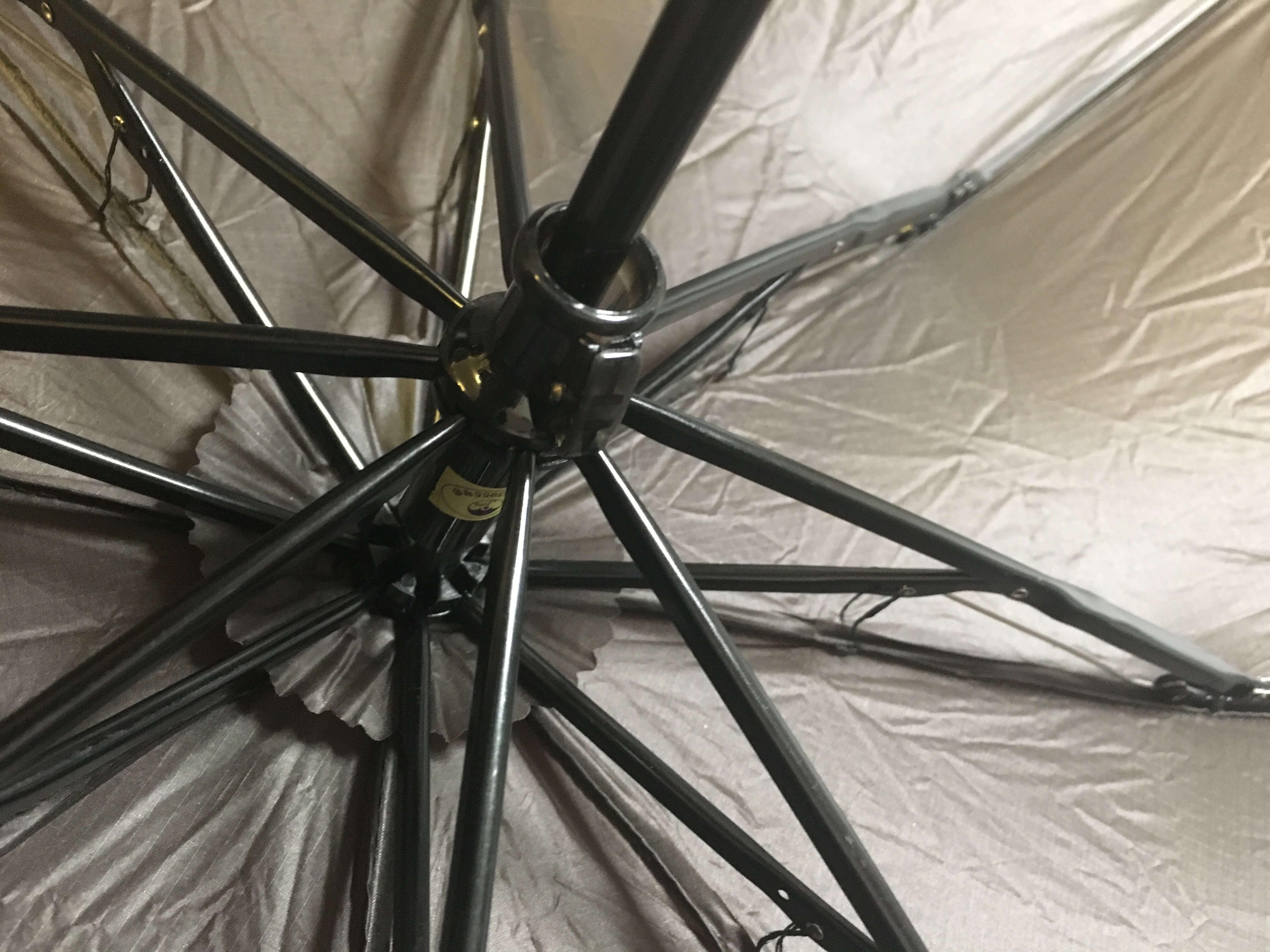 登山・トレッキング用傘のストッパー機構