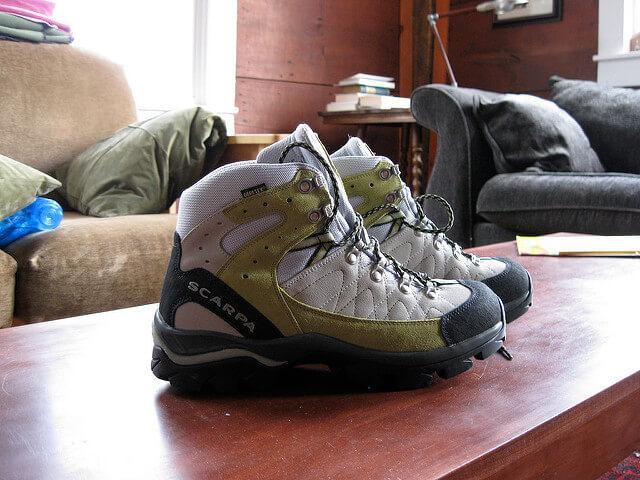 スカルパの登山靴