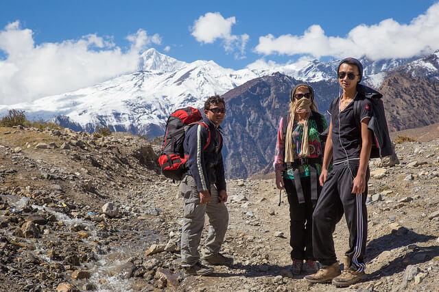 天候に応じた登山の服装