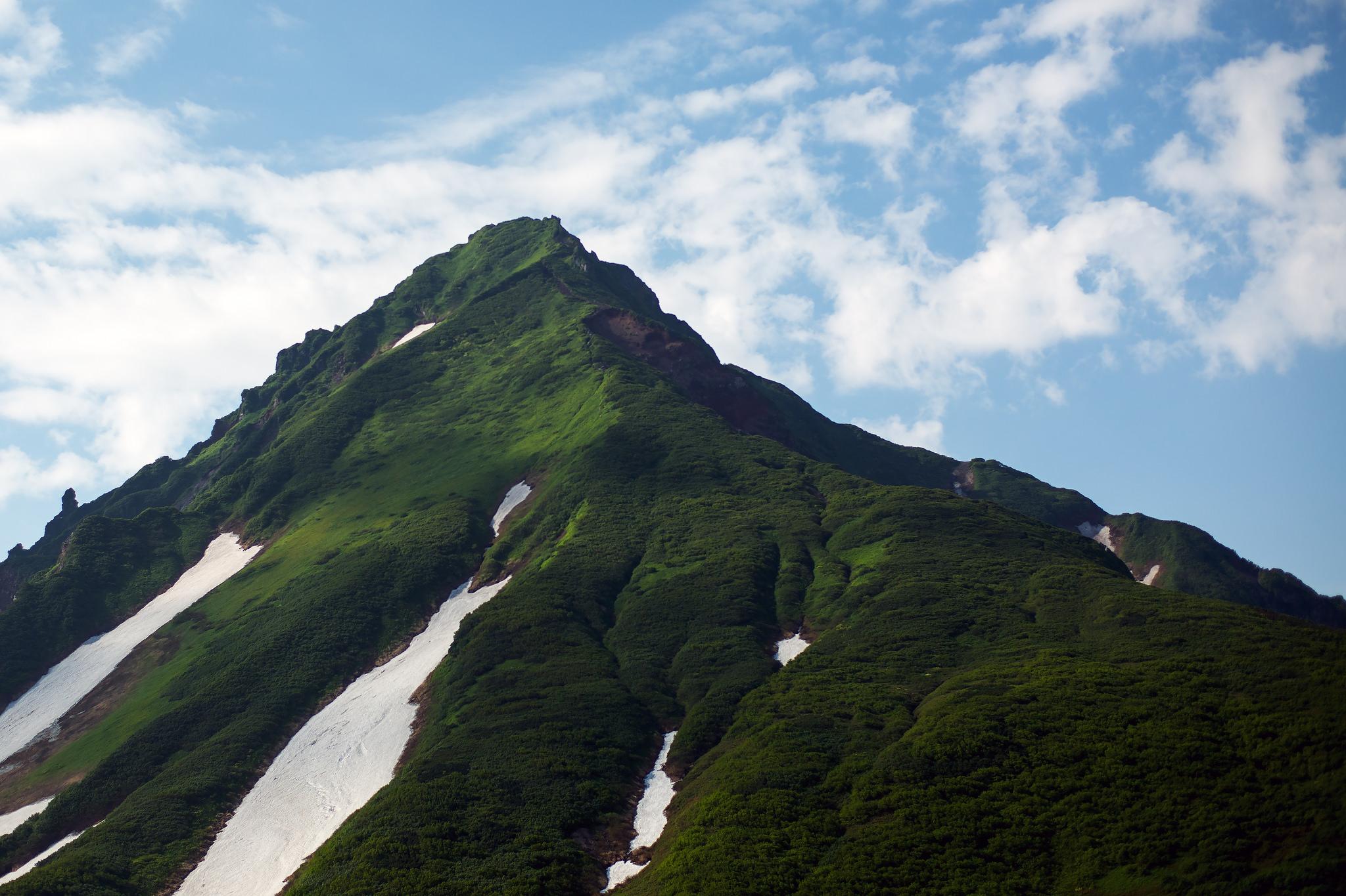 夏の利尻岳