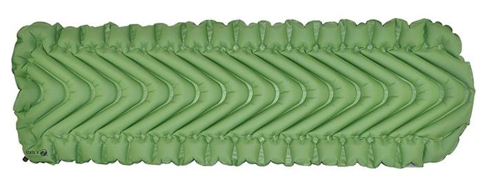 エア注入式スリーピングマット(寝袋マット)