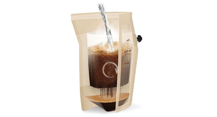 登山向けのインスタントコーヒーメーカー