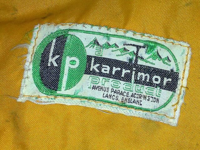 カリマーリュックのロゴ
