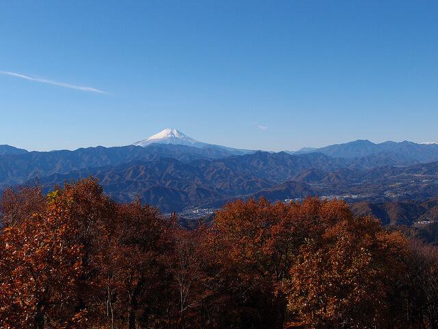 関東の日帰り登山できる山2:陣馬山2