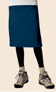 【モンベルの登山スカート】シャミースラップスカート