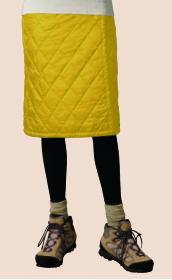 【モンベルの登山スカート】サーマラップスカート