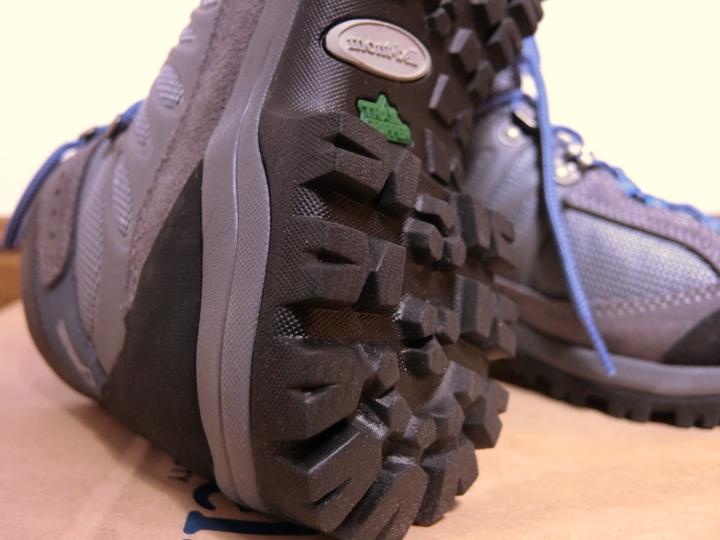 モンベル登山靴のトレイルグリッパー