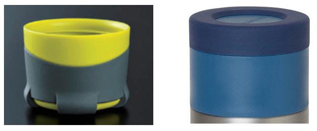 山専ボトルとモンベルアルパインサーモボトルのコップ比較